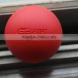 custom made solid rubber ball 62MM diameter silicone rubber ball
