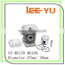 chainsaws cylinder and piston set 37mm cylinder for ST-017/MS170 ST-018/MS180