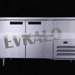 2 doors under counter refrigerator with CE
