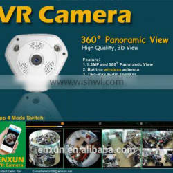 360 Degree VR Panoramic Camera with Fish-eye lens