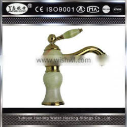 Single cold antique brass finishing water tap sink faucet