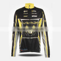 OEM services custom sports Breathable cycling jersey