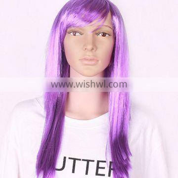 Wig Type Silky Straight Wave Style cheap colorful party wig
