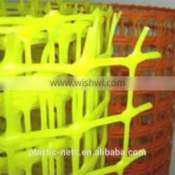 extruded plastic flat mesh for safety fence