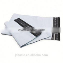 Custom size poly material fashionable apparel shipping bags for clothing