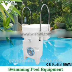 Factory wall hung pipeless integrated filter for swimming pool
