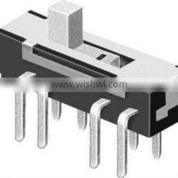 upright slide switch series products MS-23D07