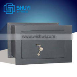 Mechanical solid steel keylock safety box for home or office