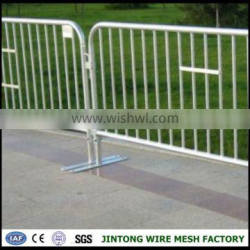portable metal fencing panel,metal road crowd control safety barriers