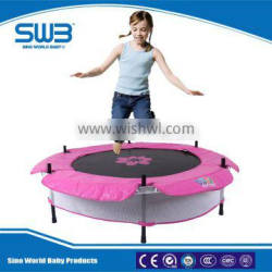 Kids mini trampoline with Safety net, trampoline with enclosure