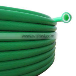 """high quality corrosion resistance flexible 3/8""""(14mm*9.5mm) green PVC pipe for chemical industry"""