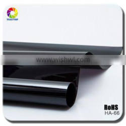 TSAUTOP super quality vinyl stained decorative window tint film for car HA66