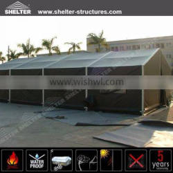 Outdoor strong army tent with aluminium frame structures for military