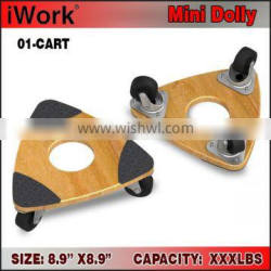 9 Inch triangle Wood Dolly