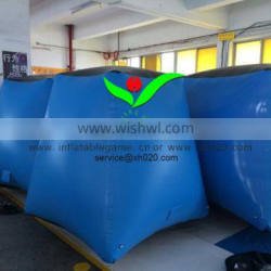 Outdoor /indoor sport suitable for kids & Adults Camp confrontation inflatable paintball bunker