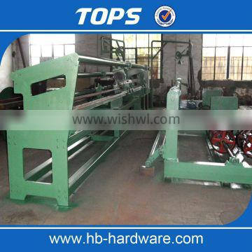 China automatic chain link fence making/weaving machine