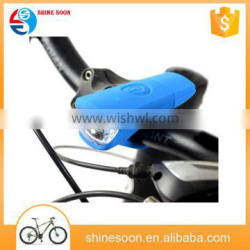 Wholesale light Fashion usb bicycle front light/mountain bike silicone bicycle light