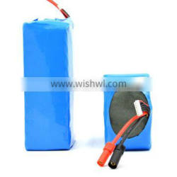 Can be customized ! 10P6S 22.2V 35Ah rechargable battery pack with Sanyo NCR18650GA without PCB use for Robot &UAV