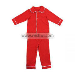 2016 Kaiyo christmas pajamas red pajamas for children and adult clothing factory fall boutique girl clothing