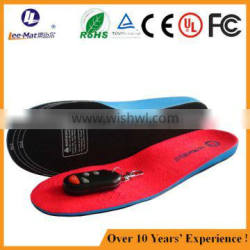 China manufacturer eva material rechargeable electric lithium battery heated insoles with remote control Quality Choice