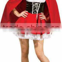 New coming Little Red Riding Hood costume fashion hallwoeen party costume BWG-2257