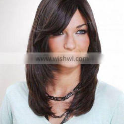 MonoFilament top Human hair Wigs - Half Hand Made Wigs