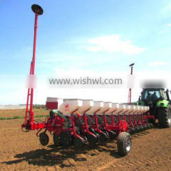 12 Rows pneumatic seeder in agriculture