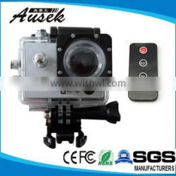 sj4000 wifi Action camera 170 degree wide angel with remote control