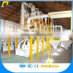 High Efficiency Wheat / Maize And Rice Flour Making Machinery For Africa