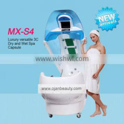 spa capsule ozone sauna spa capsule dydro massage machine spa capsule for sale