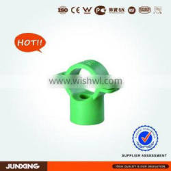 PPR Pipe Fittings Stand Pipe Clamps for hot and cold water