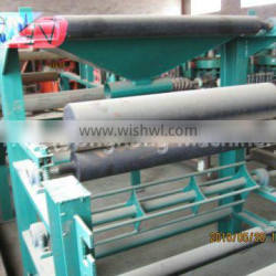 Production of fiber cement corrugated sheets