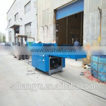 HY series old clothes rag waste textile tearing machine cutter
