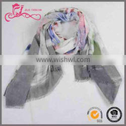 shena new style lady scarf, custom voile fashion bondage type of scarf for women
