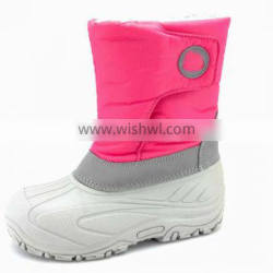 teenage warm shoes stitching part sole winter boots