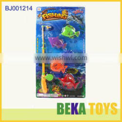 Hot children toys happy kids small animal plastic toy fishing game toy children magentic fishing baby toys