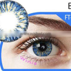 New arrival korean Lucille angel eyes 17mm big diameter tri soft color contact lenses