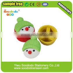 Chinese supply Christmas Erasers sets