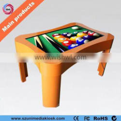 Stylish wifi 42 inch HD TFT indoor use touch screen table for restaurant
