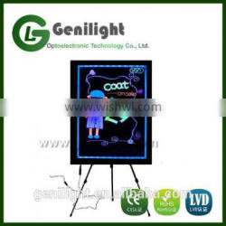 LED Menu Board Message Sign display dry erase Fluorescent neon writing