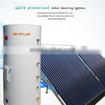 split solar system working principle of solar water heater