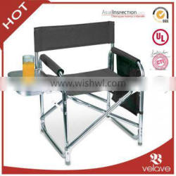 folding chair with tablet