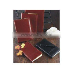 Elegant PU Pull-up Soft Leather Cover Diary Notebook