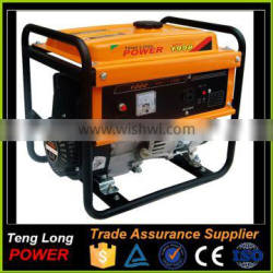ISO Certified Mini Electric Start AC Gasoline Generator