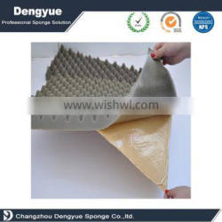 1000*2000 big size or cut small size Excellent sound absorbing sponge small big wave soundproof acoustic foam panels