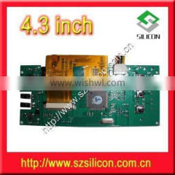 """High-quality 4.3"""" TFT-LCD Driver Board Video door phone board"""