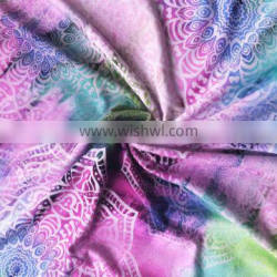 New Stytle Gradient Color Bamboo Fiber Cotton Printed Fabric
