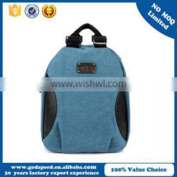2015 wholesale good quality canvas school backpack
