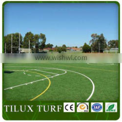 sports artificial grass for outdoor basketball court with fake grass