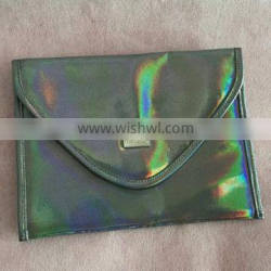 New Style Laser Pu Leather Envelope Clutch bag